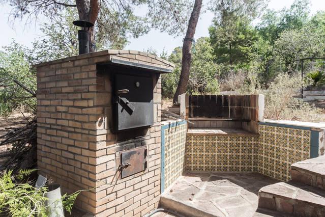 Casa Roberto Grande Valencia - Outdoor pizza oven and brick built BBQ