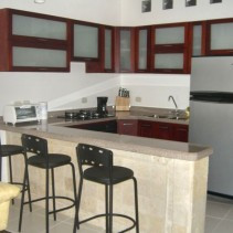 Cartagena Moneda - kitchen in 1 bed