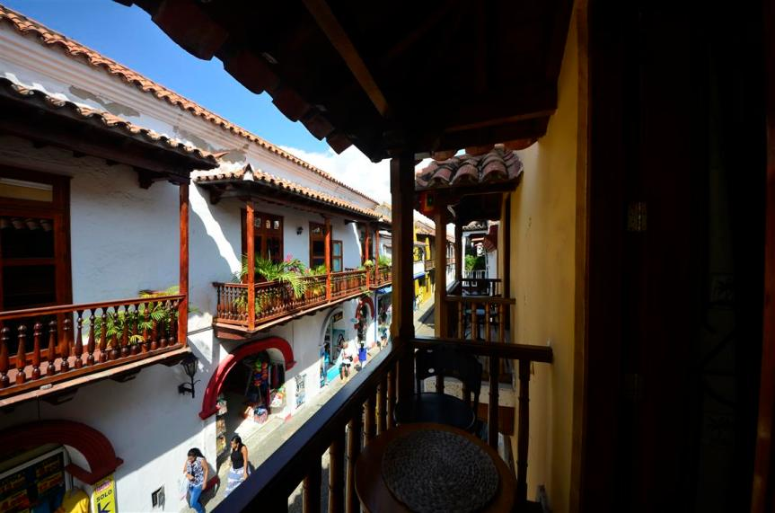 Cartagena Moneda - studio balcony