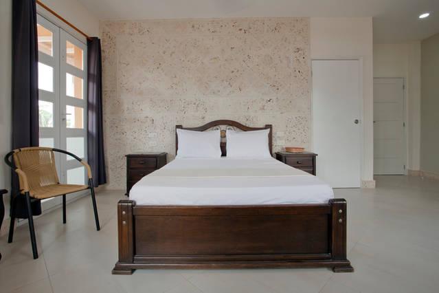 Cartagena Balcones Apartments - bed