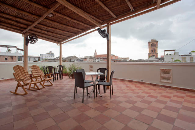 Cartagena Balcones - terrace