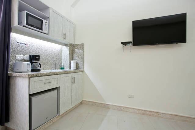 Cartagena Balcones Apartments - kitchen