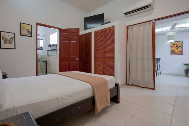 Cartagena Moneda - bedroom in 2 bed